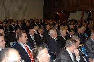 В зале делегаты II Cъезда инженеров России
