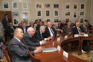 20-летие Российской инженерной академии (в первом ряду министры-учредители)