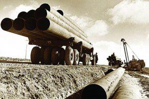 Укладка газопровода в Удмуртии