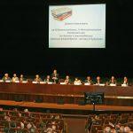 Президиум Международной конференции «Бетон и железобетон» в 2014г. в большом зале Российской академии наук