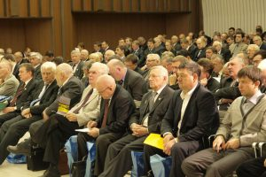 В зале собрания II Cъезда инженеров России