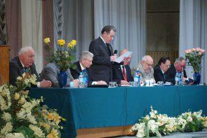 Президиум собрания Российской инженерной академии