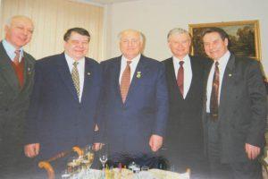 Министры СССР и примкнувший к ним Б.В.Гусев