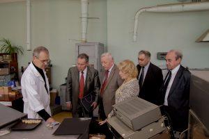 Посещения производства пъезокерамики НКТБ Пъезоприбор